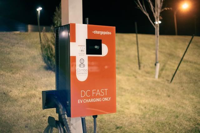 charging station at home