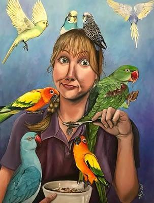 Bird Paintings By Skye Elizabeth Tranter – Bird Artist